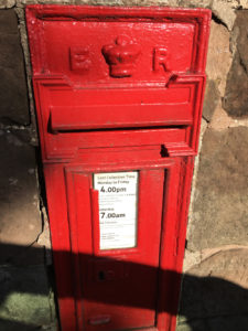 Royal post box, Quarry Heath, Staffordshire