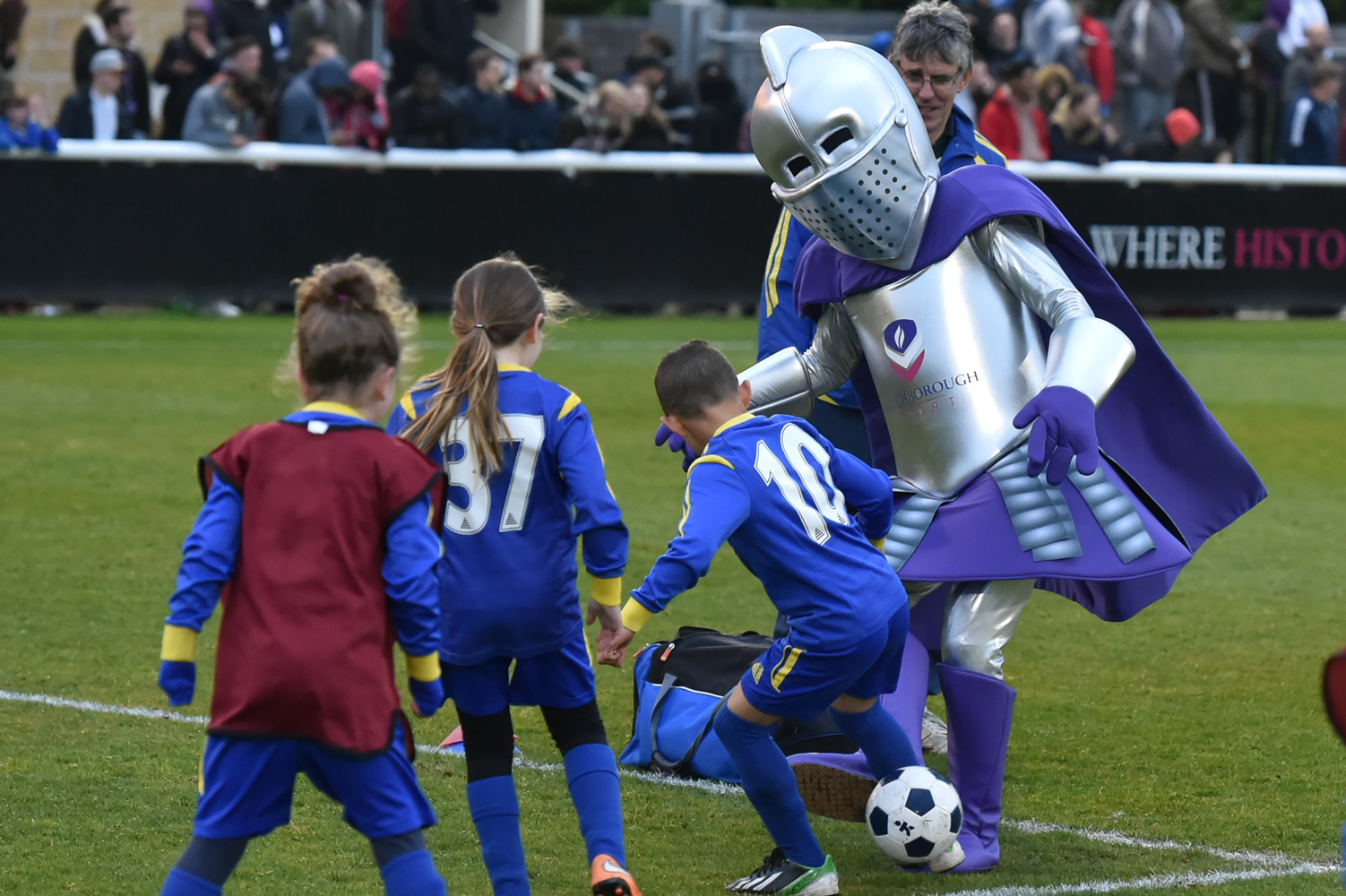 Loughborough University FC mascots
