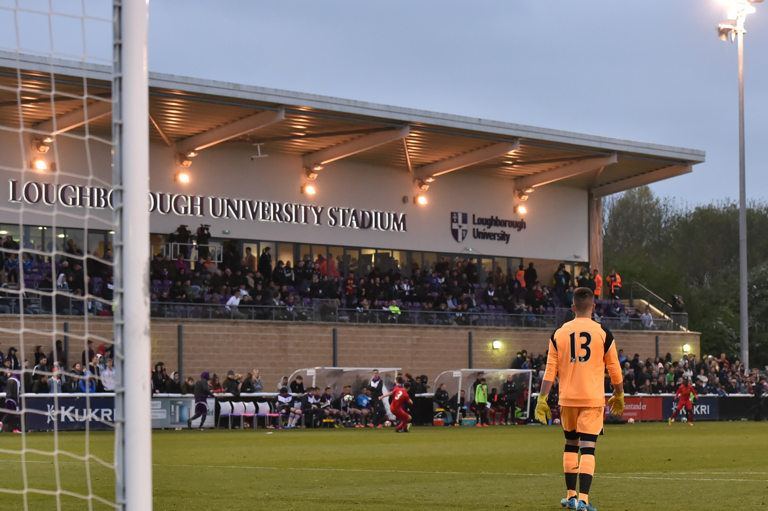 Loughborough University FC v Liverpool