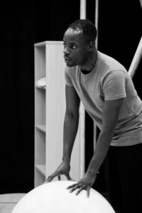 Actor at Curve Theatre by Rosie Bambury